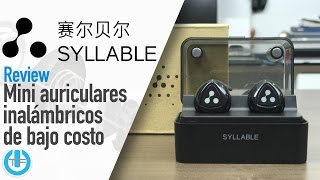 Syllable D900 Mini buena alternativa auriculares inalámbricos