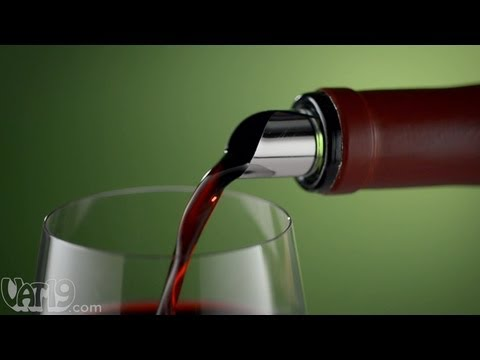 Prevent wine spills at the source: DropStop Wine Pour Spout