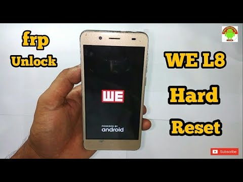 WE L8 Hard Reset,Unlock Easy Solutions Without PC by Software