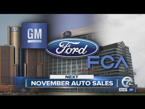 Auto sales November