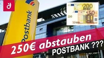 250€ leicht verdient ✓ So einfach funktioniert die Postbank Prämie ☆