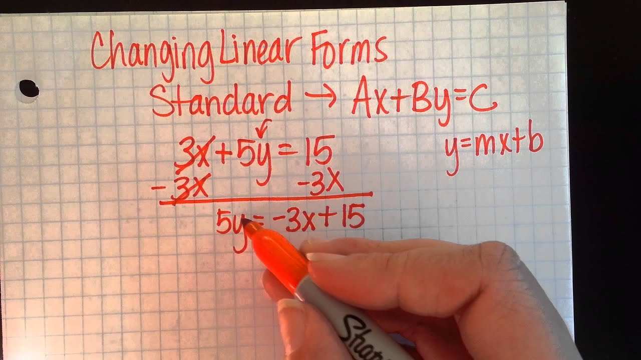 Changing Linear Forms