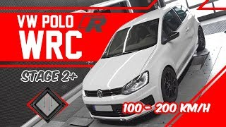 VW Polo R WRC 2.0 TFSI  STAGE 2+ | 100-200 km/h | mcchip-dkr