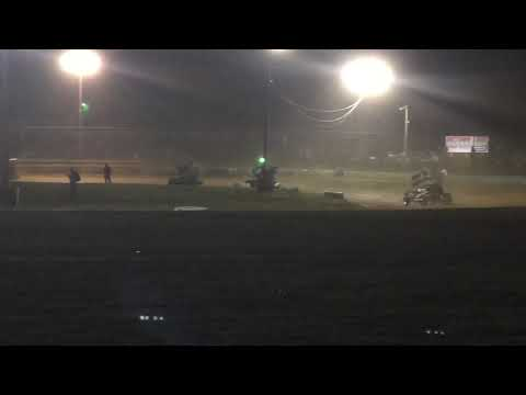 Mercer Raceway Park 305 sprints 04-13-2019