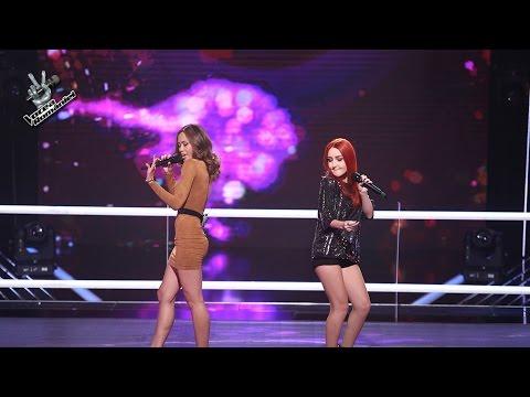 Rose Marie Velasquez & Mihaela Chisnencu - Sugar | Confruntari | Vocea Romaniei 2016