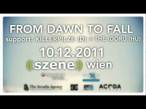 From Dawn To Fall - Szene Wien Teaser