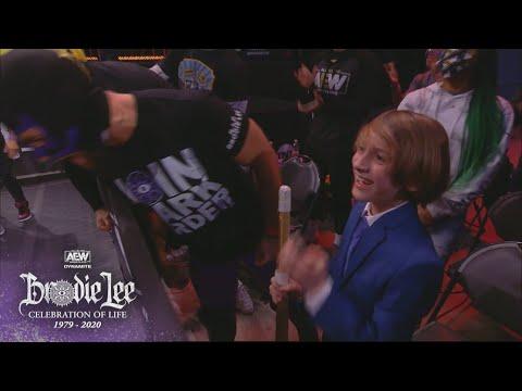 Brodie Lee Jr. Shines Bright!   AEW Brodie Lee Celebration of Life, 12/30/20