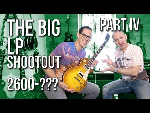The Big Les Paul Shootout Part IV - Guitars from €2600 to infinity