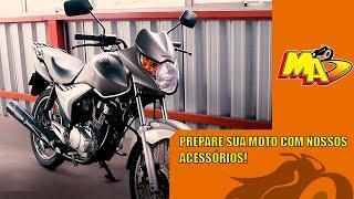 ACESSÓRIOS PARA SUA MOTO: TITAN 150