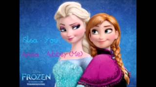 For the first time in forever reprise, You sing Elsa