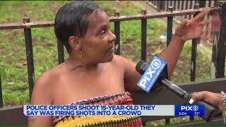 Armed 15-year-old shot by police after refusing to drop weapon