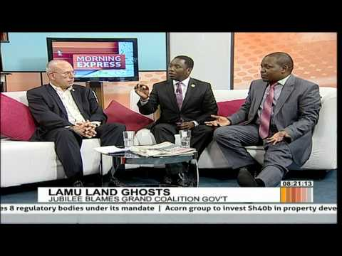 Morning Express discussion on Lamu land ghosts [Part 2]