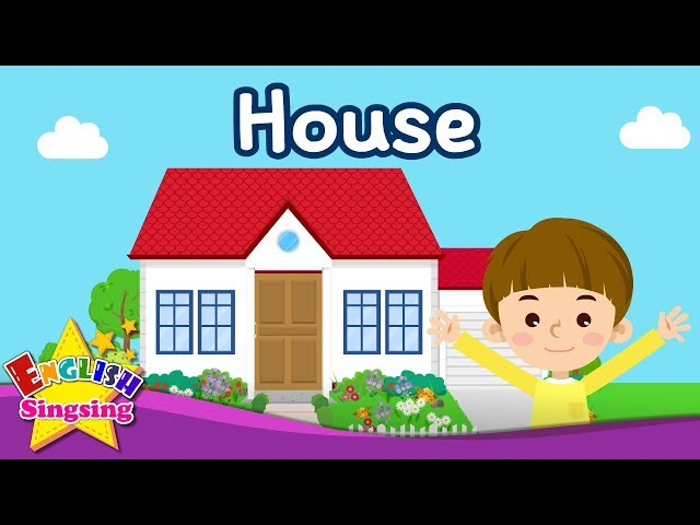 Kids vocabulary - Parts of the House