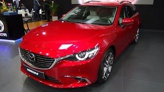 2018 Mazda 6 Wagon Revolution Top - Exterior and Interior - Auto Salon Bratislava 2017