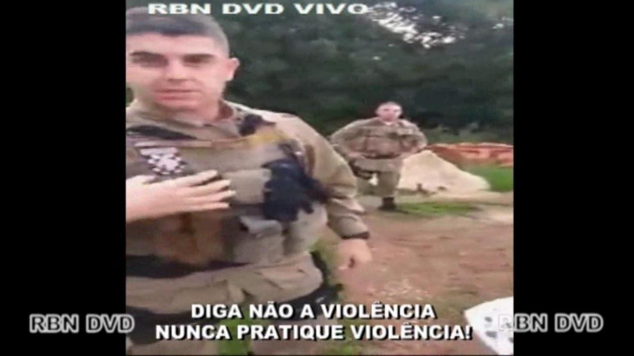POLICIAIS AGRIDEM MULHER VIOLENTAMENTE