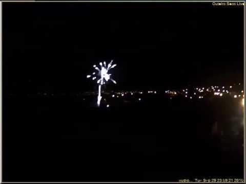 Fogo artificio São Miguel 2015 Outeiro Seco