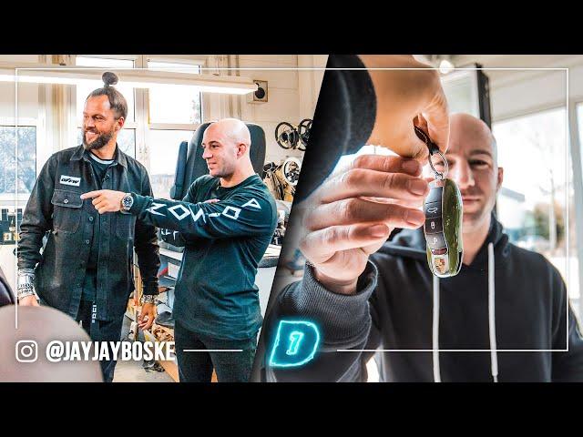 CUSTOM PORSCHE samenstellen voor JAYJAY?! // DAY1 Daily Driver DEEL 1