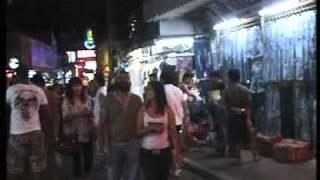 pataya walking street with sardar