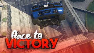 LAND DE STUNT NU! (GTA V RACE TO VICTORY S3 #5)