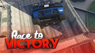 LAND DE STUNT NU! (GTA V RACE TO VICTORY S3 #5)