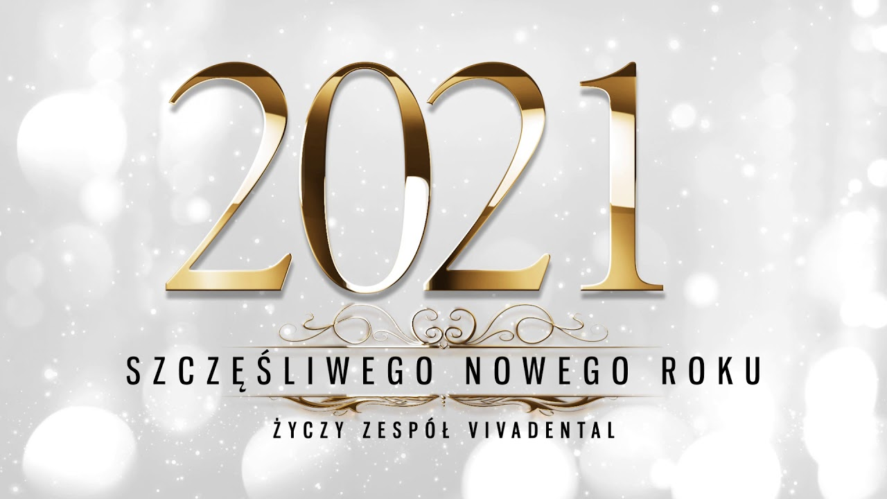 Vivadental na Nowy Rok 2021!