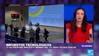 Comisión Europea presenta propuesta para gravar a gigantes tecnológicas