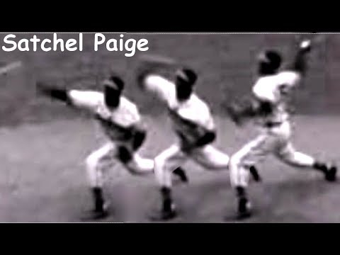 "Satchel Paige ""overhand"" Pitching Mechanics Slow Motion"