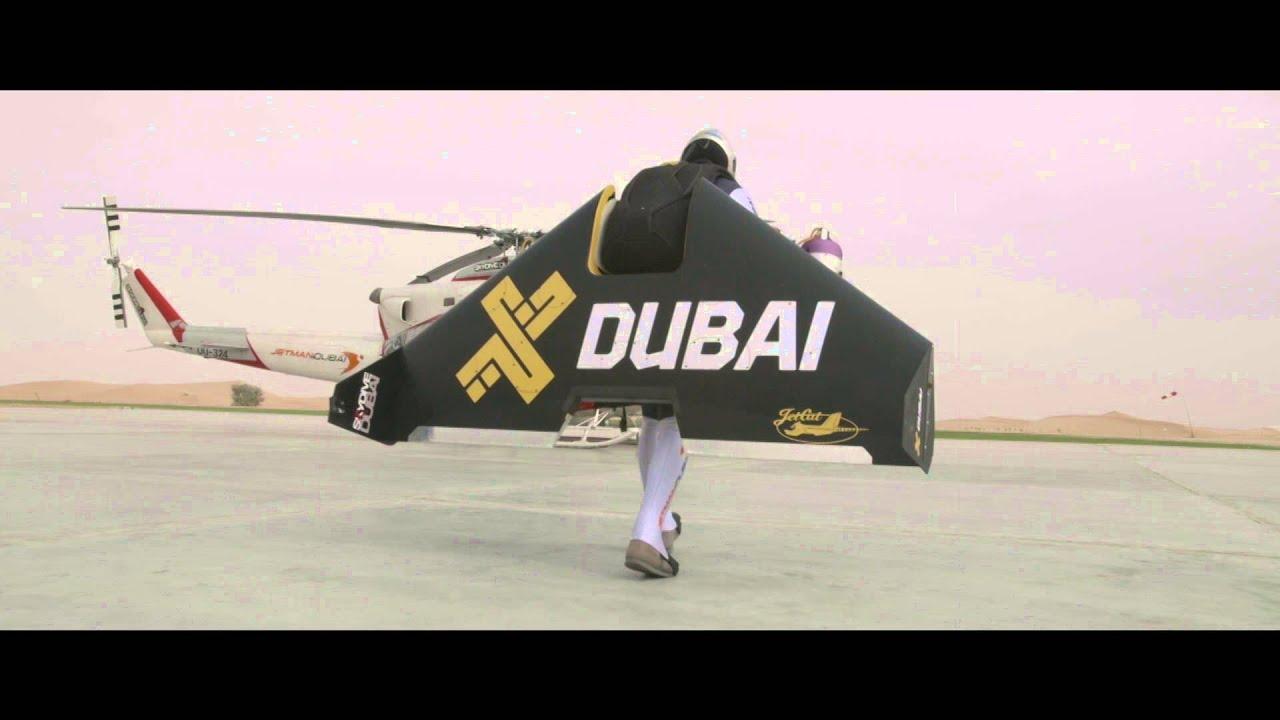 VIDEO – Un jet-man sfida un ex-pilota di F1: chi vince?