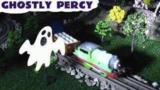 Thomas And Friends Play Doh Ghostly Percy Train Thomas Y Sus Amigos Play-doh Tom