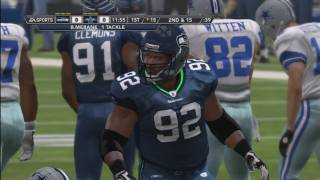 Madden NFL 12 Seahawks Franchise | [Y1G8] Shootout In Dallas