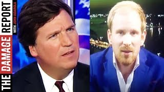 Tucker Carlson Curses Out Guest (VIDEO)