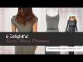 default - DEARCASE Women Long Sleeve Loose Plain Maxi Dresses Casual Long Dresses With Pockets