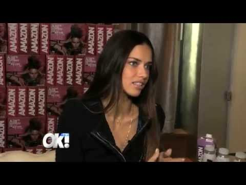 Victoria's Secret Model Adriana Lima with Tips on How to Take the Perfect Picture