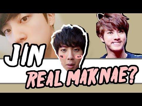 BTS JIN KIM SEOK JIN REAL MAKNAE? FUNNY...