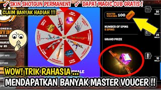 CARA MENDAPATKAN MASTER VOUCHER DI EVENT MASTER ROYALE BANYAK TERBARU !! - Garena Free Fire !