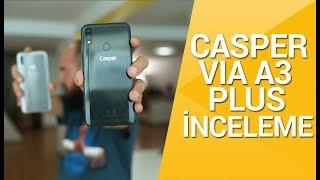 Casper VIA A3 Plus inceleme! - Yapay zekalı ve çentikli ekranlı ilk yerli telefon!