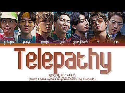 BTS (방탄소년단) Telepathy Lyrics (Color Coded Lyrics Eng/Rom/Han)