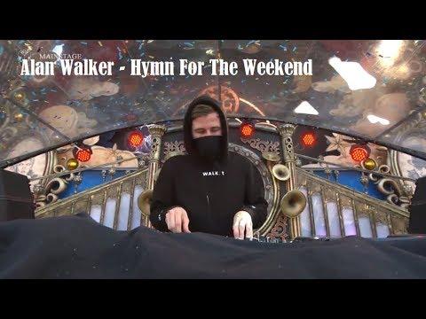Alan Walker - Hymn For The Weekend  Live Tomorrowland 2017
