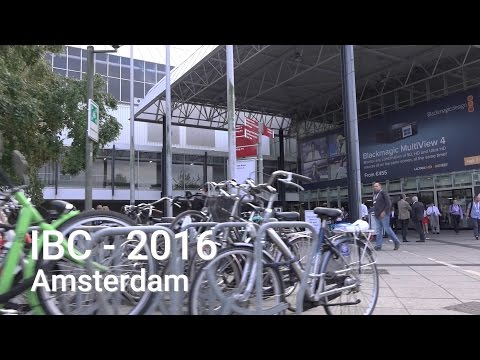 Stuart Ashton - Blackmagic Design at IBC 2016