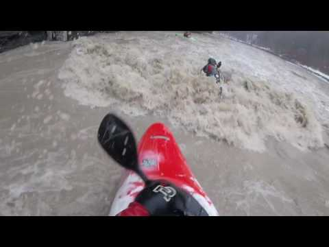 Surfed on the Upper South Branch