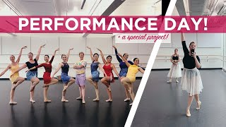 Performance Day AND a Special Filming Project!