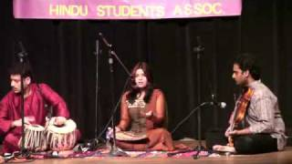 Vibha Indian Classical Music Fayetville AR USA Concert 23 April 2010