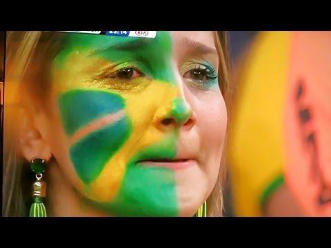 NO CRYING IN SOCCER | SAD FANS | BRAZIL VS GERMANY