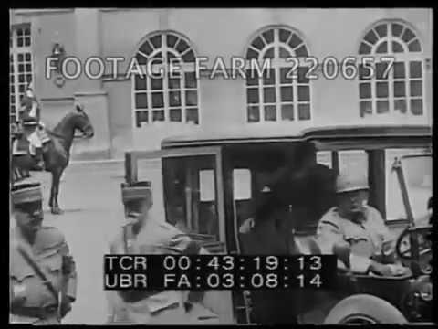 World War One - Versailles 220657-08 | Footage Farm