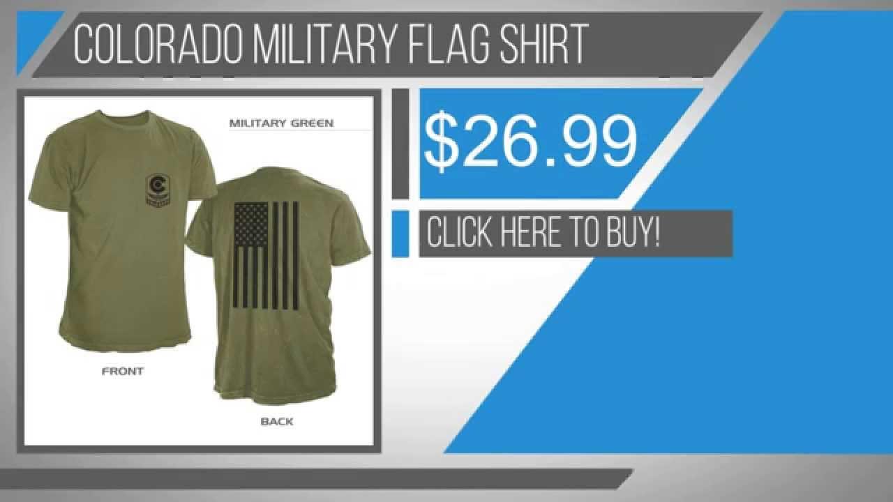 ae87dbd4 Colorado Military Shirt - YouTube