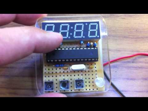 REQUEST KIT: 7 Segment display clock 3 - Adafruit