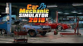Тюнингую бентли с аукциона Car Mechanic Simulato 2018