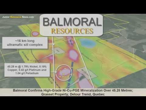 Junior Resource News features Balmoral Resources