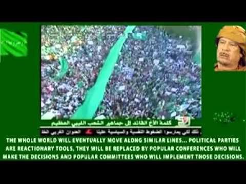 Tripoli Million People Protest Againt NATOs Criminal Aggression on Libya (English Subtitles), 1.7.11