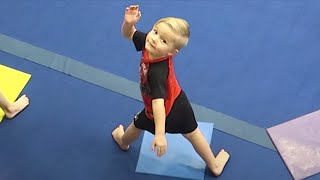 😱LITTLE KID PASSES OUT DOING GYMNASTICS!